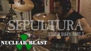 SEPULTURA - 2016 Studio Diary #2 (OFFICIAL STUDIO TRAILER)