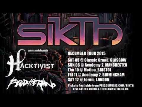 SikTh - Opacities (UK Tour Trailer)
