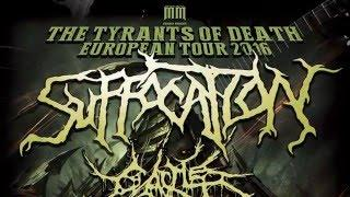 SUFFOCATION - European Tour 2016 (OFFICIAL TRAILER)