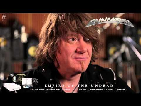 Gamma Ray / Kai Hansen 'Empire Of The Undead' Interview Part 6