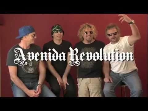 CHICKENFOOT 12 DAYS OF THE FOOT - AVENIDA REVOLUTION