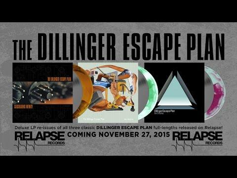 THE DILLINGER ESCAPE PLAN - Vinyl Reissues (Official Trailer)