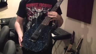 """Rivers of Nihil """"The Conscious Seed of Light"""" studio update: guitar gear and tracking"""