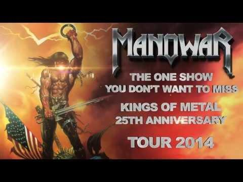 MANOWAR - Kings Of Metal MMXIV World Tour