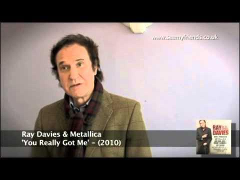 Ray Davies Discusses Metallica Collaboration