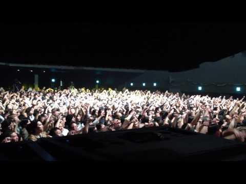Manowarriors Chanting Hail And Kill MMXIV Live @ Zepp Diver City, Tokyo - Oct 2014