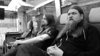 ENSLAVED, THRESHOLD & FREE FALL - Record Store Day (OFFICIAL INTERVIEW)